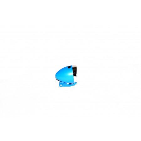 Lampa przednia z bateriami 3 LED niebieska