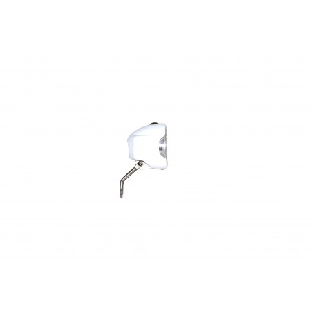 Lampa przednia z bateriami LED biała