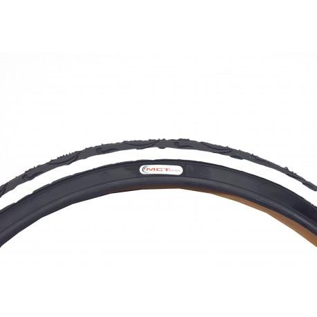 Opona MCT 26*2,125 czarna z białym bokiem