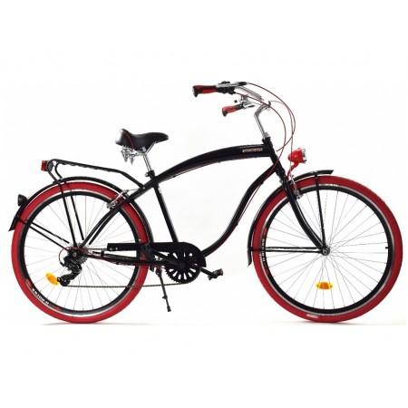 Rower MĘSKI Miejski 28 CRUISER biegi Dallas