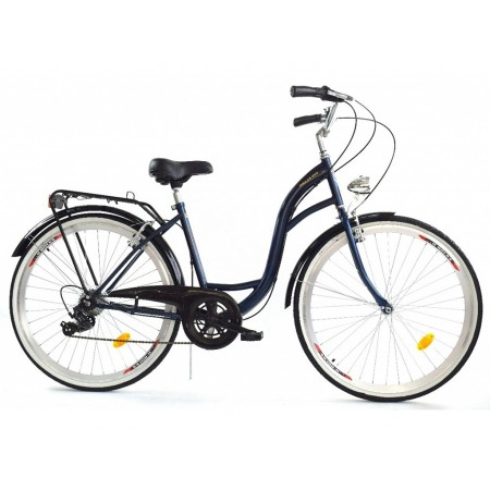 DALLAS BIKE City 26″ 6spd – granatowy