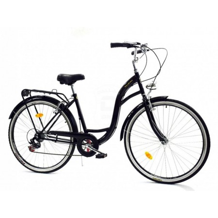 DALLAS BIKE City 26″ 6spd – czarny