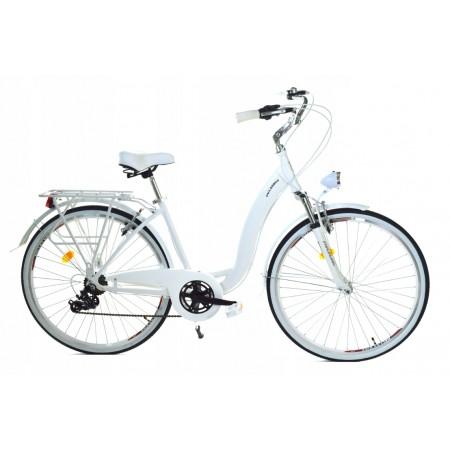 "Dallas Bike Alu 28"" 7spd GE -  biały"