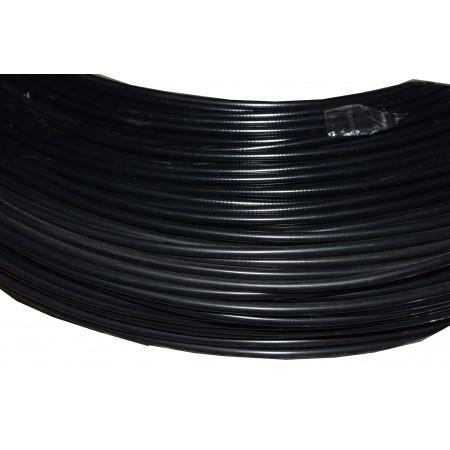 Pańcerz linki 5mm czarna 500m/rolka