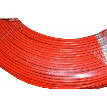 Pańcerz linki 5mm czerwona 500m/rolka
