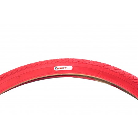 Opona MCT 28*1,75 czerwona