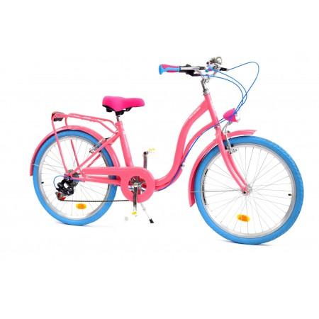 Rower dla dziewczynki 6 biegów Dallas na komunię