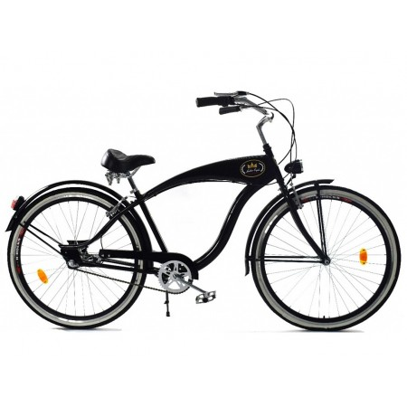 GOLDEN EAGLE Cruiser Męski 28″ 3spd – czarny