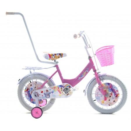 """Rower dziecięcy wiki 16"""" 2021 różowy"""