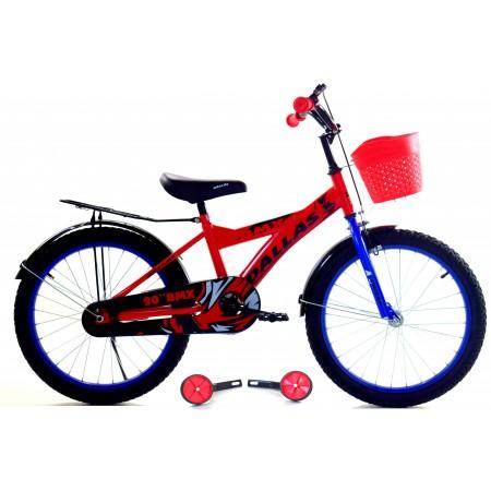 """Rowerek BMX 20"""" Dla Chłopca 2021 czerwony"""